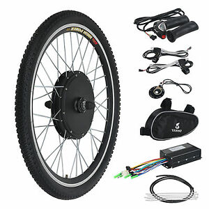 Electric Motor For Bicycle >> 36v Front Wheel Electric Bicycle Motor Conversion Hub Kit 500w 26