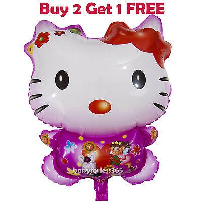 HUGE 2-Sided Hello Kitty Jumbo Balloon Birthday Party Supplies Decoration - Hello Kitty Party Decoration