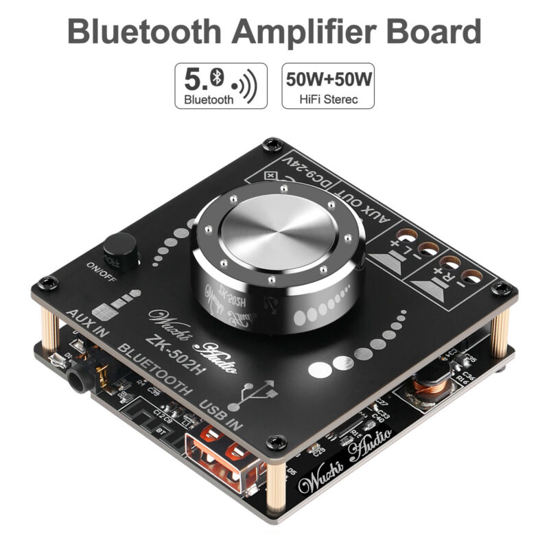 Bluetooth Amplifier Board Hifi Stereo 2.0 2X50W Audio Amplifier Module TPA3116D2