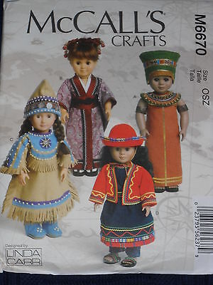 International Costumes and Accessories for 18