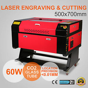 60w CO2 Lasergraviermaschine Gravurmaschine Cutting Gravur Cutter Cutting  Usb