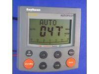 Raymarine ST4000 Plus Autopilot Control Head Autohelm Raytheon Display New LCD