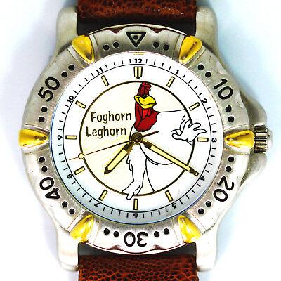 Foghorn Leghorn, Vintage New Unworn Fossil Warner Bros. Looney Tunes Watch! $129
