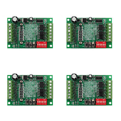 4pcs Tb6560 3a Cnc Router Single 1 Axis Controller Stepper Motor Driver Board Ue