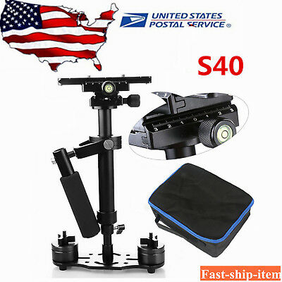 S40 40CM Handheld Steady Stabilizer Steadicam for DV DSLR Camera Video Camcorder