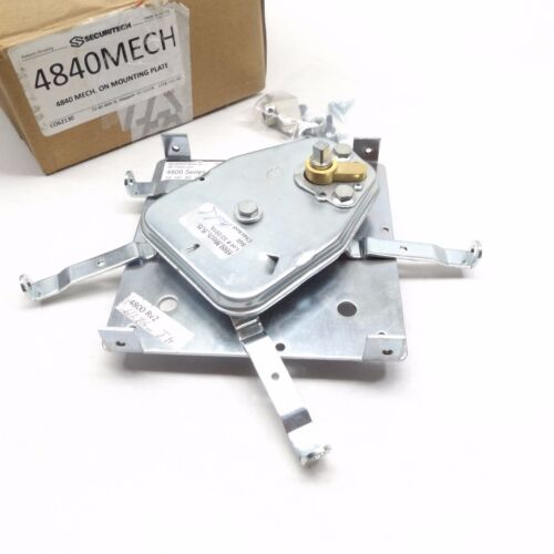 SECURITECH 4840,  MP POLICE LOCK, 4 POINT SURFACE MOUNT ON PLATE  (NO ARMS)