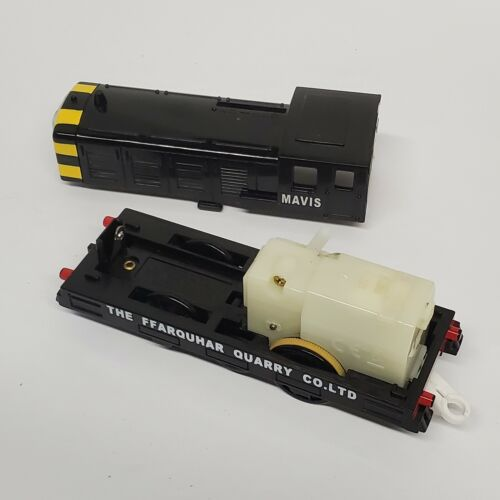 Mavis Thomas Tank Trackmaster Tomy Motorized Train With Passanger Car, Cargo Car - $44.99