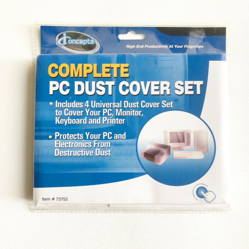 PC Dust Cover Set Complet Cover For Computer By I Concepts