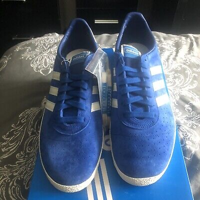 Adidas Originals Munchen Super Spezial SPZL UK 11 BNIBWT Blue White. Very Rare