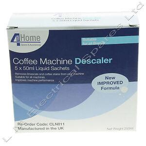 coffee machine descaler nespresso