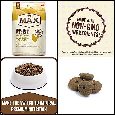 Best Nutro Max Dry Adult Dog Food Whole Grains Senior w Farm Raised Chicken 25lb