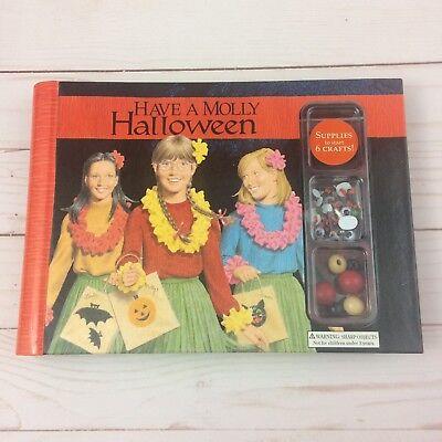NEW American Girl HAVE A MOLLY HALLOWEEN Craft Kit Recipe Book Fun
