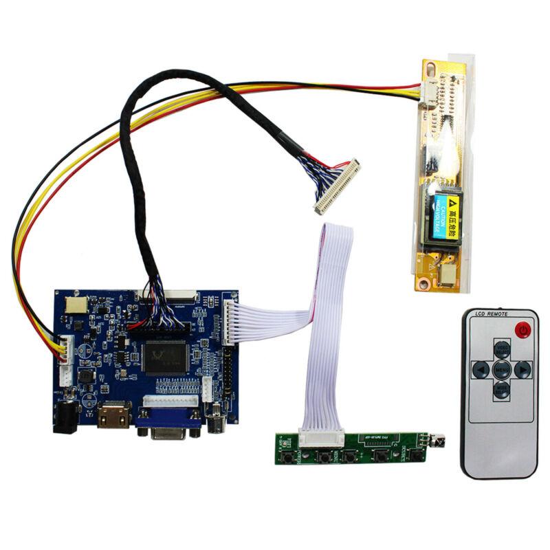 HDMI VGA AV LCD Controller Board For 15 in B150XG02 QD15XL06 1024x768 30Pin LCD