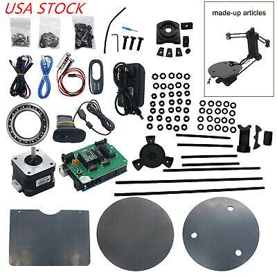 3D Open Source DIY 3D Scanner Kit Advanced Laser Scanner w/ C270 Camera USA