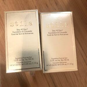 Brand new stila foundation+concealer