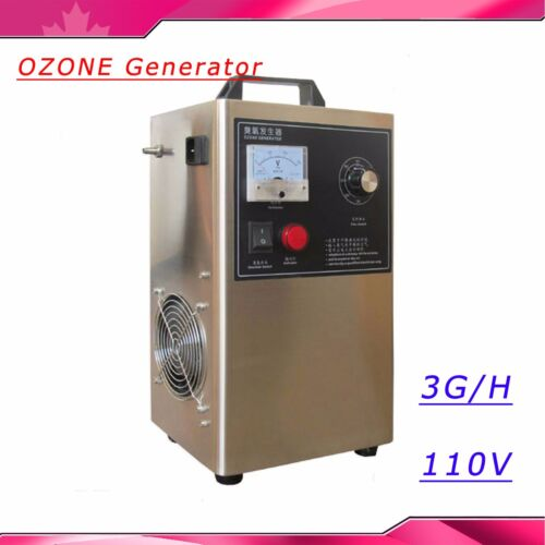 110V OZONE Generator For Water Water/Oil/Air 3G/H live Bacteria Sterilization