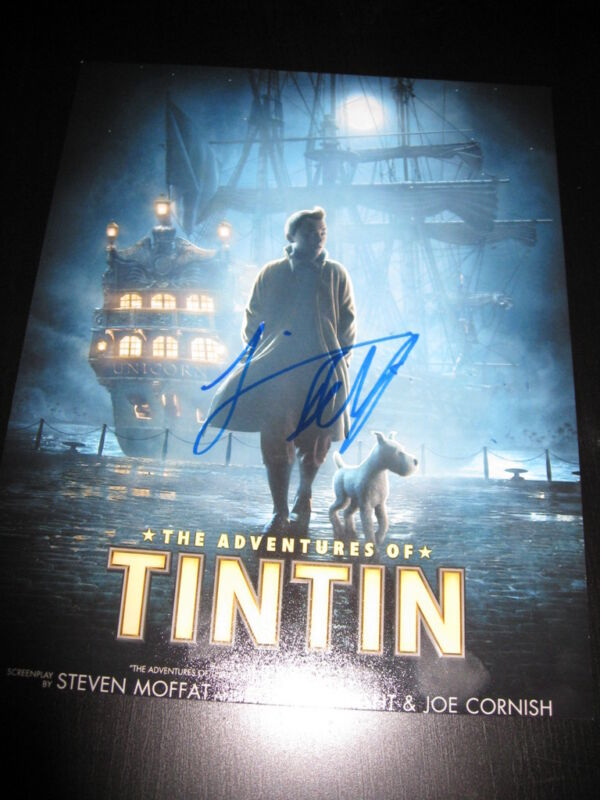 JAMIE BELL SIGNED AUTOGRAPH 8x10 ADVENTURES OF TIN TIN