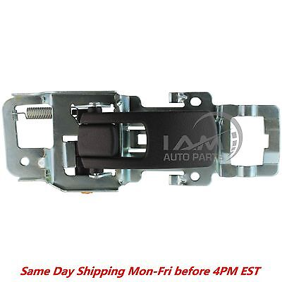 Left Driver Rear Door - Left Driver Black Inside Inner Door Handle Front or Rear for 2005-2009 Equinox