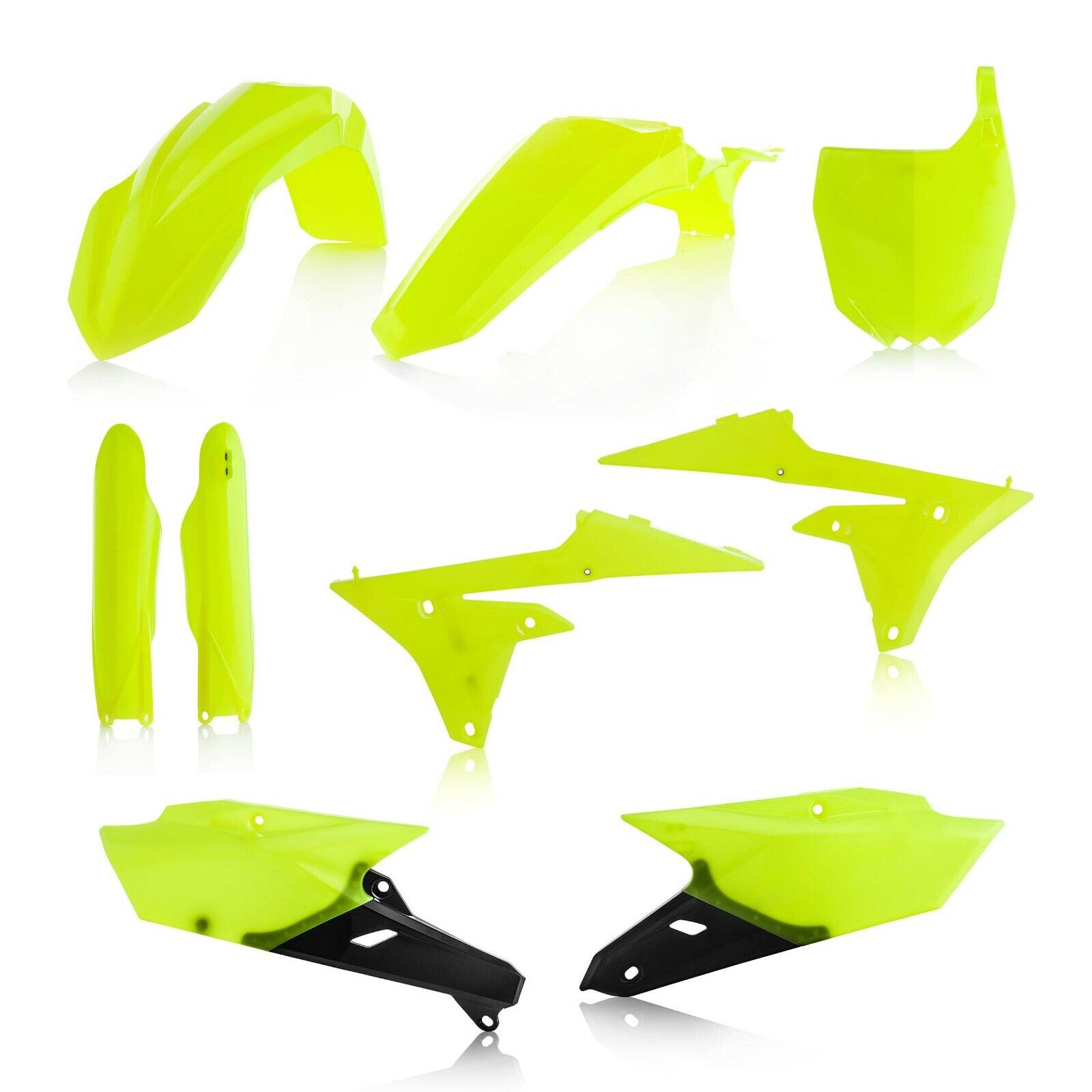 Yamaha YZF450 2014 2015 2016 2017 Neon Yellow Plastic Kit
