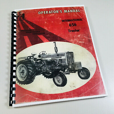 International Farmall 656 Tractor Owners Operators Maintenance Manual Ih Updated