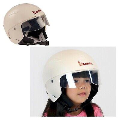 casco protettivo di sicurezza VESPA peg perego per bambino moto elettrica