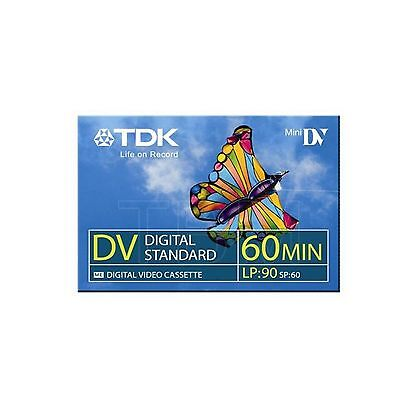 1 TDK Mini DV 60 Camcorder Tapes