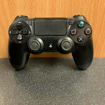 (NE6) Official Sony PS4 DualShock 4 Controller - Black