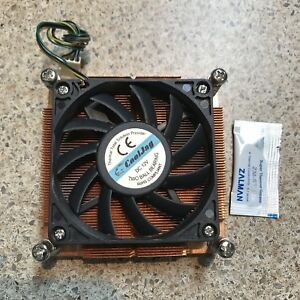 OEM Stock Intel CPU cooler heat sink and fan