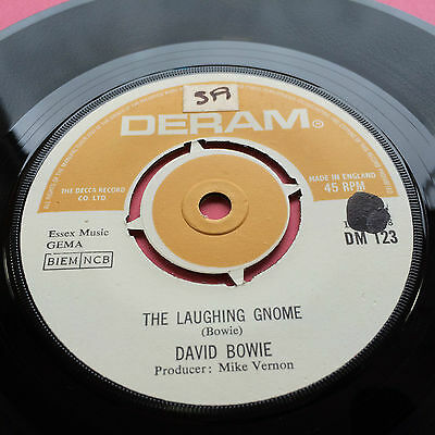 David Bowie - The Laughing Gnome / Gospel According To Tony Day - DERAM DM123