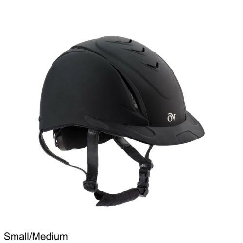 Ovation Deluxe Schooler Riding Helmet, Black, Small/Medium