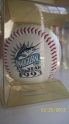 Inaugural Season Collectors - 1993 Florida Marlins Inaugural Season Commemorative Collectors Baseball NEW