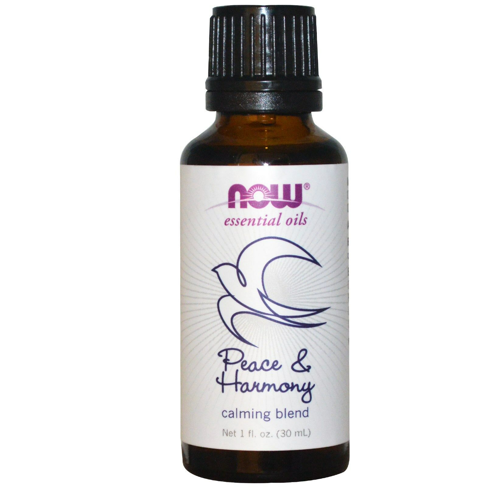 NOW Foods 1 oz Essential Oils and Blend Oils - FREE SHIPPING! Peace & Harmony Blend