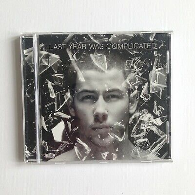 Nick Jonas - Last Year Was Complicated CD Great Condition (2016)