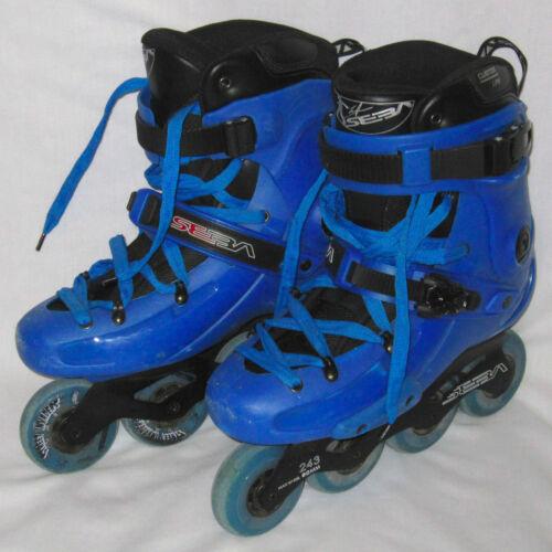 US Size 10 Blue SEBA Roller Blades Inline Skates