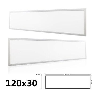 Rechteckige Leuchte (LED Panel 120x30cm Deckenleuchte Wandleuchte 36W 48W 72W Ultraslim Rechteckig)