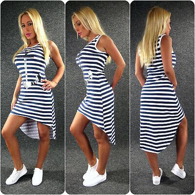 ANKER Sommerkleid Jerseykleid XS S M L Zazou Maritim Vokohila Kleid Marine 3 Anker Kleid