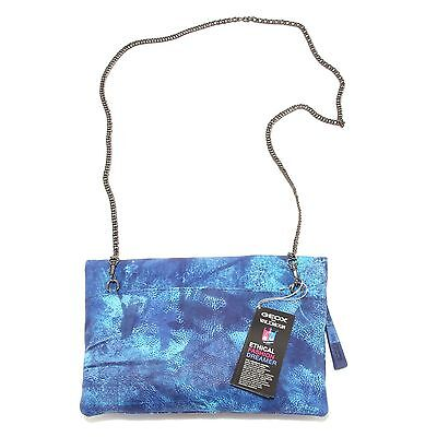 7962S borsa donna GEOX FOR VALEMOUR tracolla blu hand bag woman  0970245b28a
