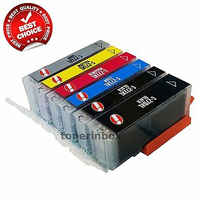 6pk New Ink Cartridge For Canon PGI-270XL CLI-271XL PIXMA MG7720 TS8020 TS9020 Cyan Compatible Inkjet Ink