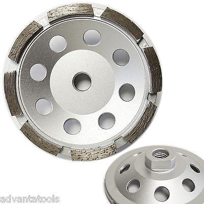 4.5 Single Row Diamond Cup Wheel For Concrete Stone Masonry Grinding 58-11