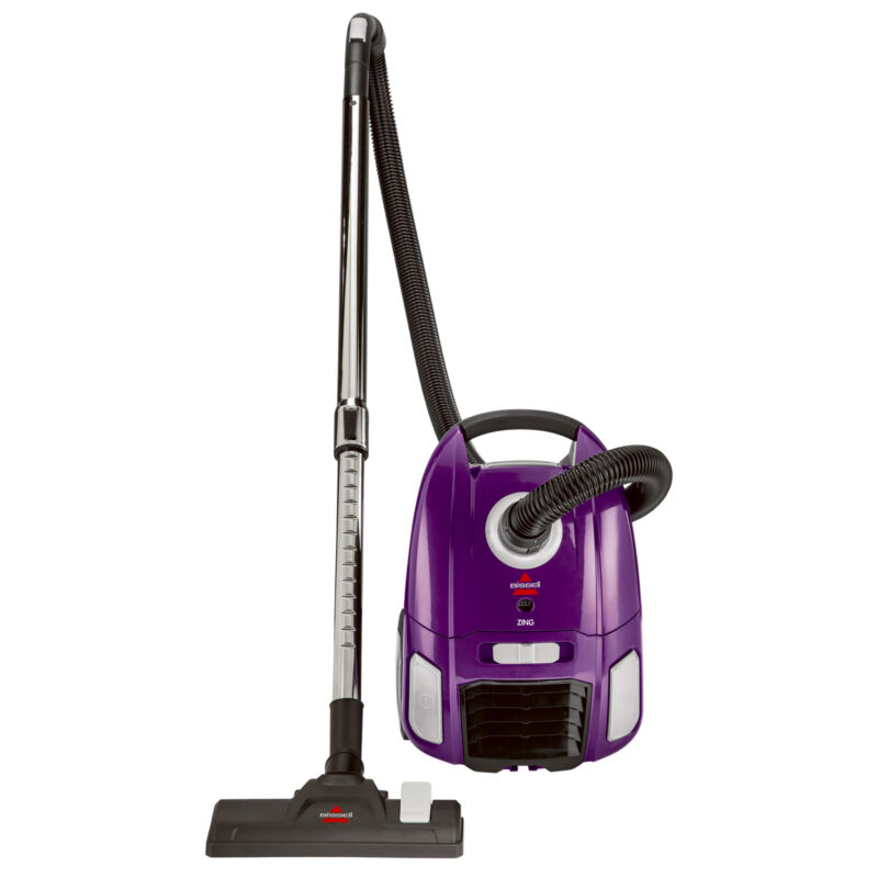 Bissell Zing Bagged Lightweight Portable Canister Vacuum Cleaner | 2154a