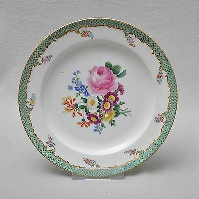 MeissenMeissen Flower painting with Edge of the shed,Plate,23 cm,Knauf time