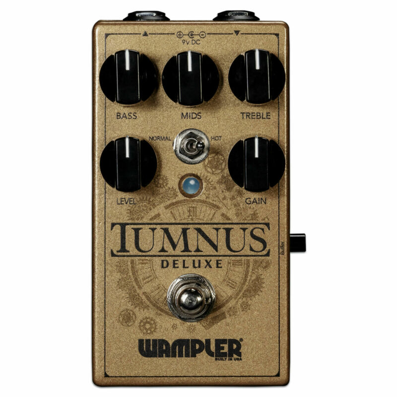 Wampler Tumnus Deluxe Transparent Overdrive Guitar Effect Pedal  - Full Warranty