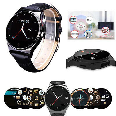 Men Bluetooth Smart Watch Phone Mate For HTC Samsung Galaxy S10 S9 S8 S7 Edge S6