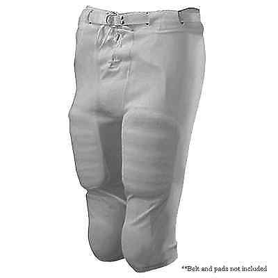 Slotted Football Pants Gray Adult Mens 3XL 15oz Polyester Alleson 615SL _994-003