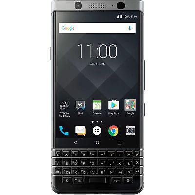 BLACKBERRY KEYone Smartphone 32GB 4.5 Zoll Silber LTE QWERTZ Android NEU OVP