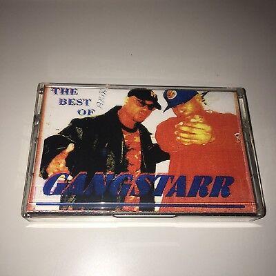 The Dream Team Best of Gangstarr NYC 90s Hip Hop Rap Mixtape Cassette