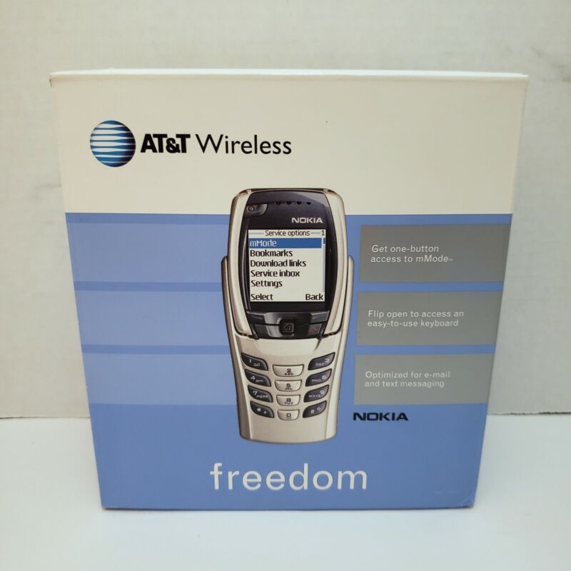 AT&T Wireless Freedom Nokia Cellular Phone with Original Box