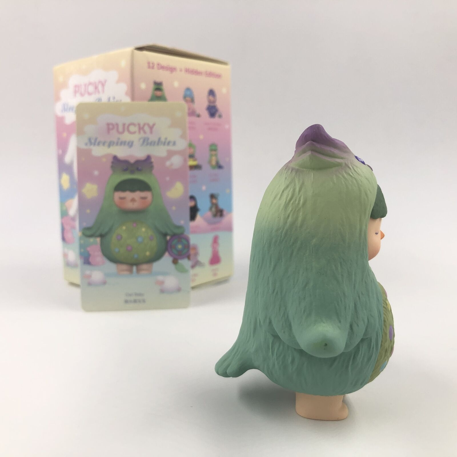 POP MART PUCKY Mini Figure Designer Toy Art Figurine Sleeping Babies Owl Baby