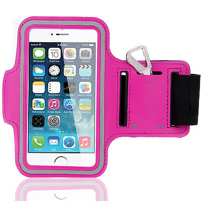 Sports Running Workout Gym Armband Arm Band Case iPhone 6 PLUS 6S PLUS Hot Pink