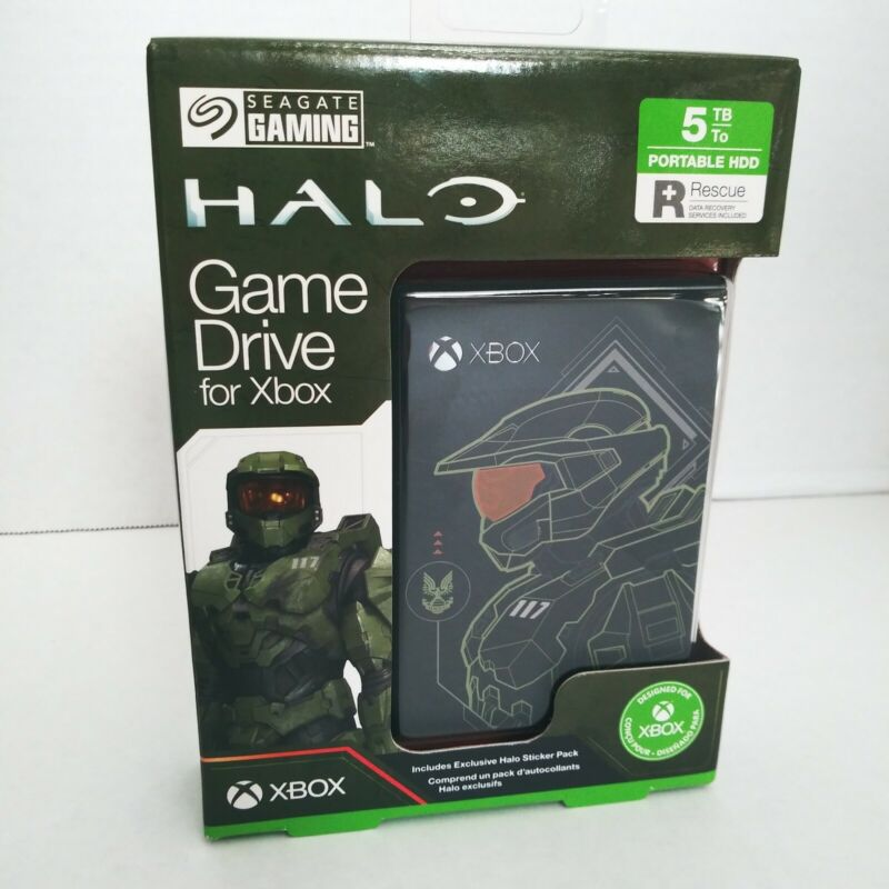 Halo Master Chief Limited Edition Game Drive for Xbox Series X 5TB - STEA5000406